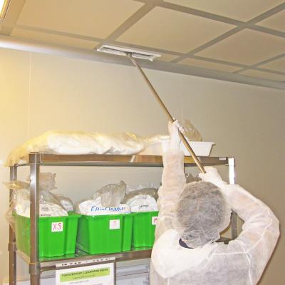 pulizia camere bianche brianza