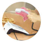 pulizie camere bianche lario